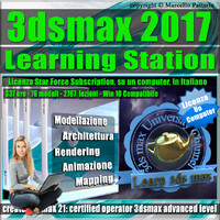 3ds max 2017 Learning Station Locked Subscription, un Computer