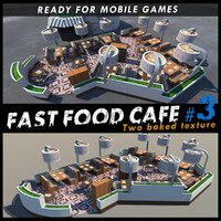 Fast Food Cafe #3