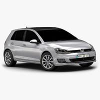 2013 VW Golf 5-door (Low Interior)