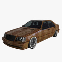 Mercedes Benz W 140 Rat-look