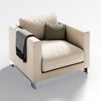 Molteni&C reversi armchair
