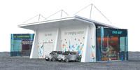 EV solar charging station