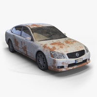 Old Rusty Car - Nissan Altima