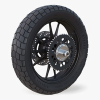 Motorcycle Back Wheel