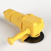 angle grinder easily uv 3d max