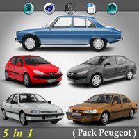 5 in 1 ( Pack Peugeot )
