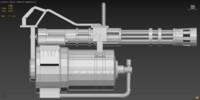 Heavys Gatling Gun