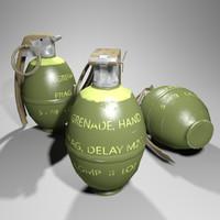 M26A1 Grenade