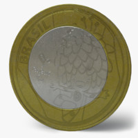Brazilian Olympic Coin