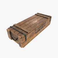 US army wooden crate