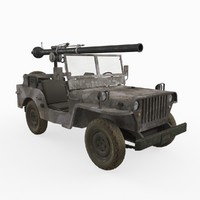 Cannon Jeep 106mm