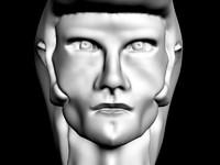 Rockabilly head (male)