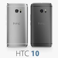 HTC 10 Silver + Black
