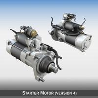 c4d starter motor engines