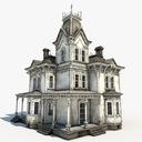 fantasy house 3D models