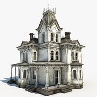 abandoned house interior max