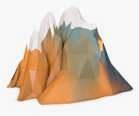 Mountain Low Poly