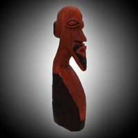 African Wood Statue