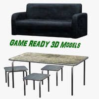 blend ready couch table footstool