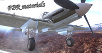 IL 2 Soviet hedgehopper fighter WW2 PBR