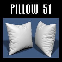3d obj pillow interiors