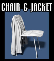 chair jacket obj