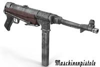 Submachine gun MP40