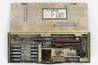 Submachine gun MP40 in a box