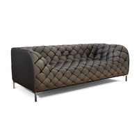 Zuo Modern Providence Sofa Black