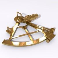 3ds sextant navigation boat