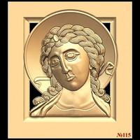 (115) 3d STL Model Religion Icon for CNC Router 3D Printer Aspire Cut3d Artcam