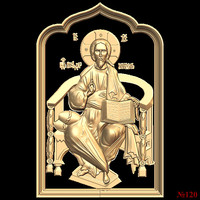 (120) 3d STL Model Religion Icon for CNC Router 3D Printer Aspire Cut3d Artcam