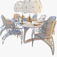 Futuristic Dining Set
