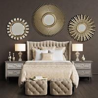 ZGallerie Jameson Bed - Bedroom set