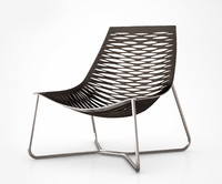 York Lounge Chair by Modloft