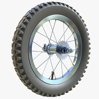 Children bicycle wheel 01
