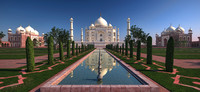 The Taj Mahal(1)