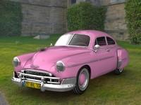 Antique Chevy Fleetline 1950 Deluxe