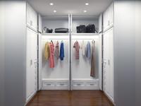 Walk In Closet (Wardrobe) - Lemari