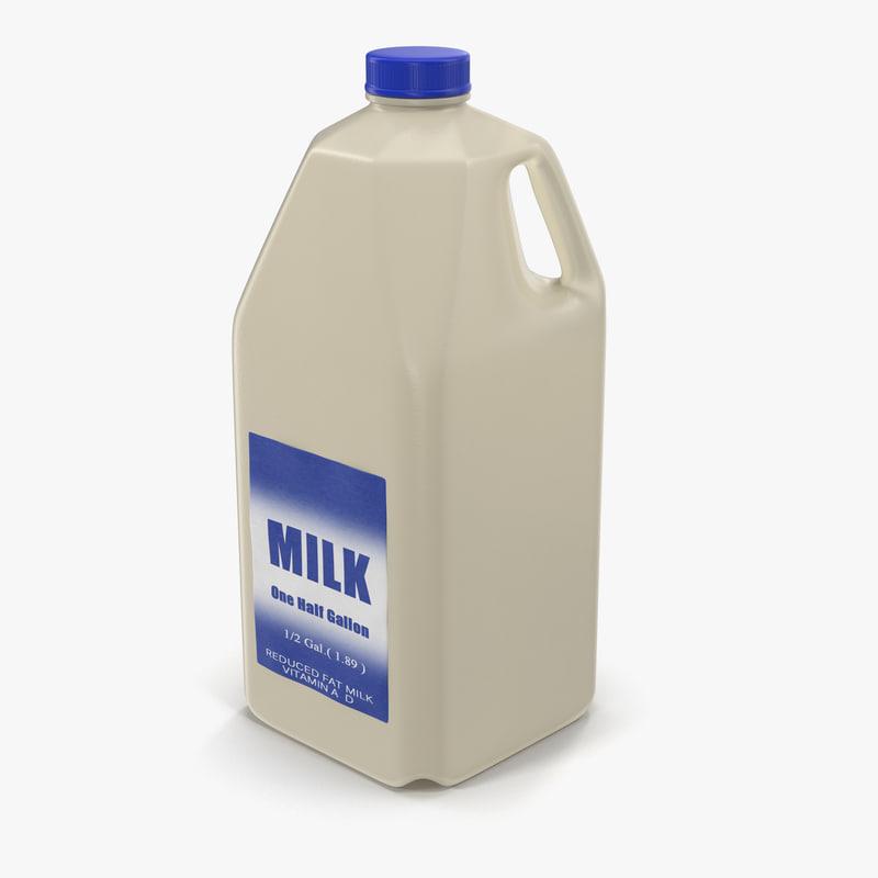 Milk Half Gallo...