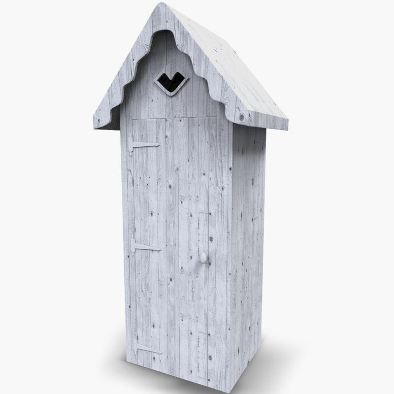 3d model beach hut for Model beach huts