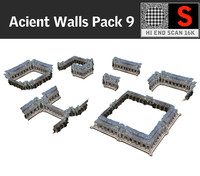 Acient Walls Pack 9