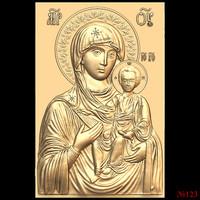 (123) 3d STL Model Religion Icon for CNC Router 3D Printer Aspire Cut3d Artcam