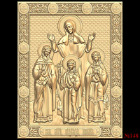 (148) 3d STL Model Religion Icon for CNC Router 3D Printer Aspire Cut3d Artcam
