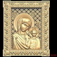 (150) 3d STL Model Religion Icon for CNC Router 3D Printer Aspire Cut3d Artcam