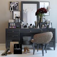Chanel decor set