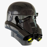 death trooper helmet 3d model