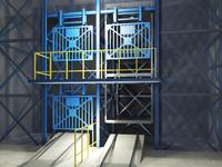mining corridor elevator