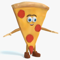 Pizza Character
