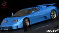 Bugatti EB110 SS 1992